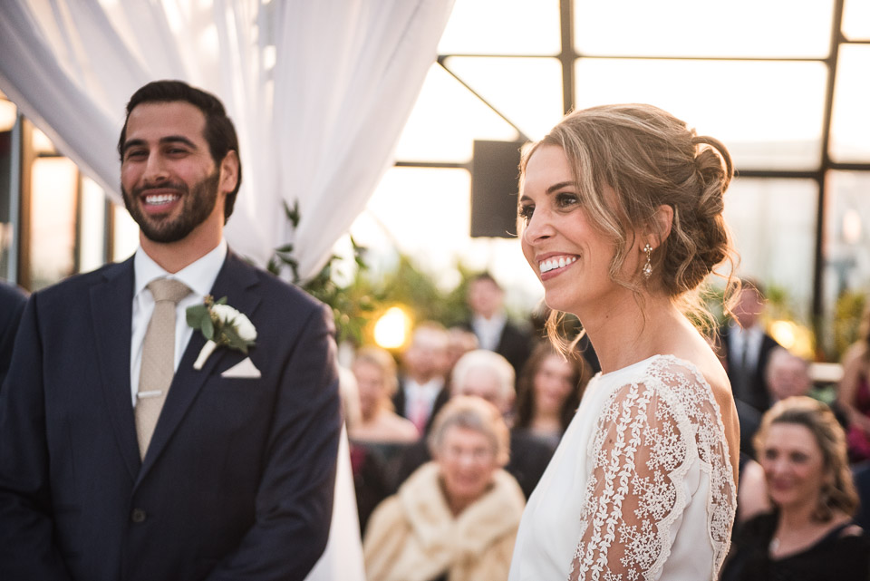 Photos of ceremonies from our weddings