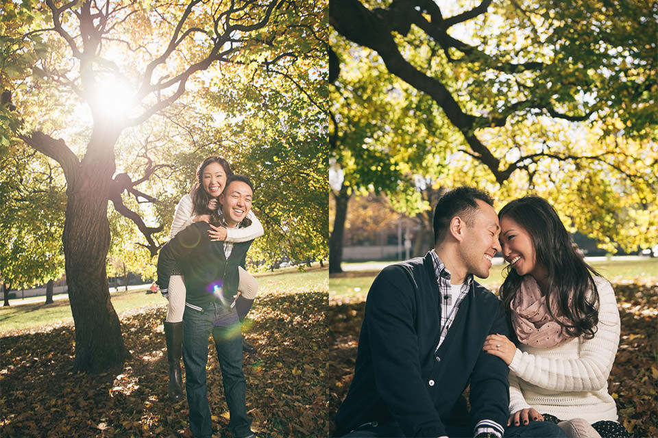 Photos from our engagement shoots
